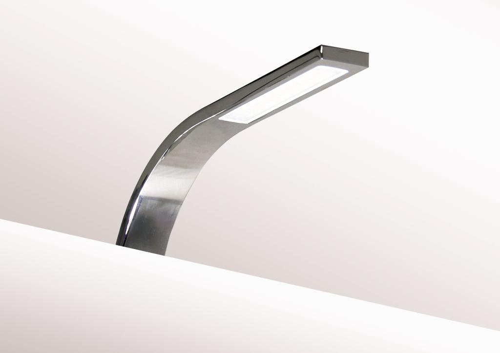 led aufbauleuchte chrom is003 c 18xsmd3014. Black Bedroom Furniture Sets. Home Design Ideas
