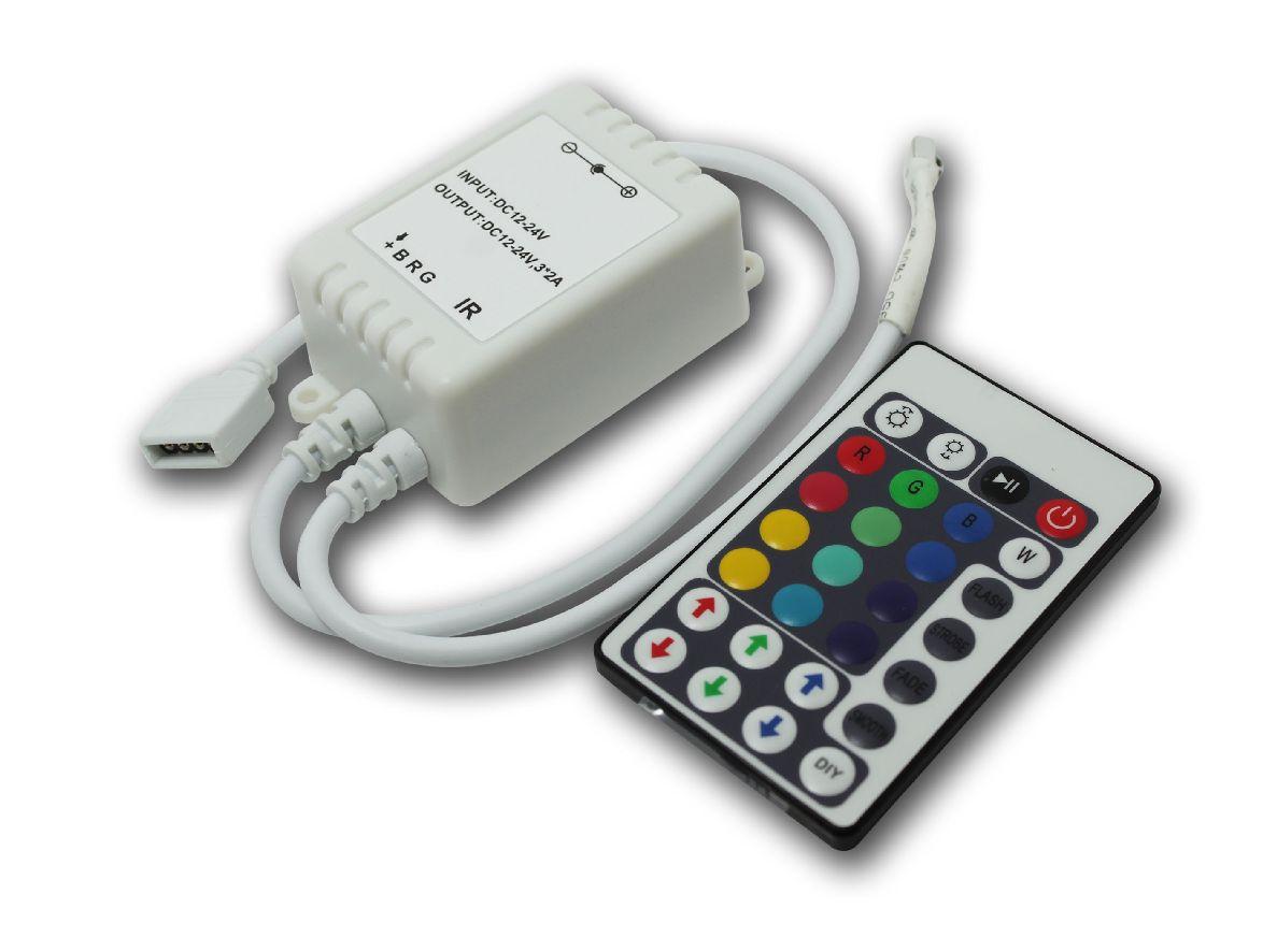 led rgb controller steuerger t. Black Bedroom Furniture Sets. Home Design Ideas